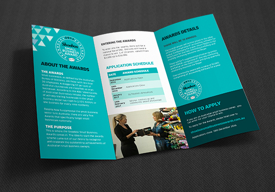 Design Corporate, Minimal Trifold Brochure  Handout for £5
