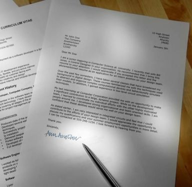 Write you a professional and personalised cover letter for job