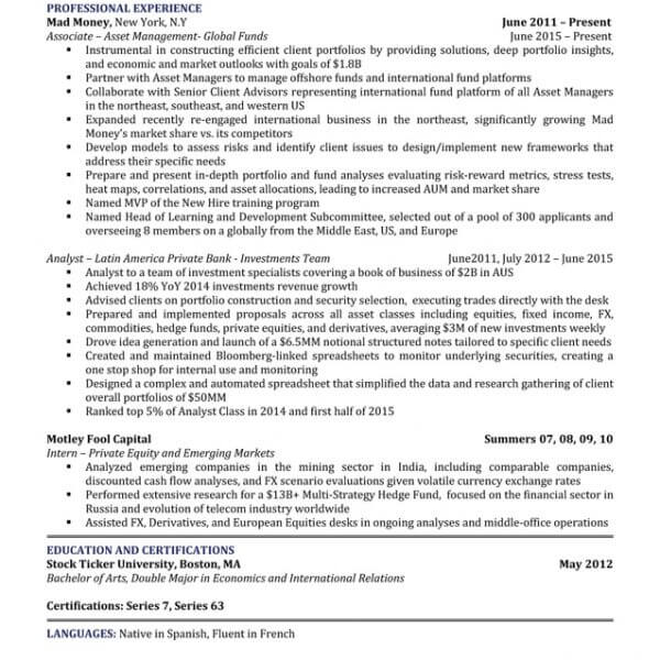 Professional Resume Writing Service NJ Five Star Resume