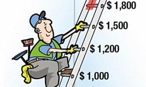 Ladder+cleaner