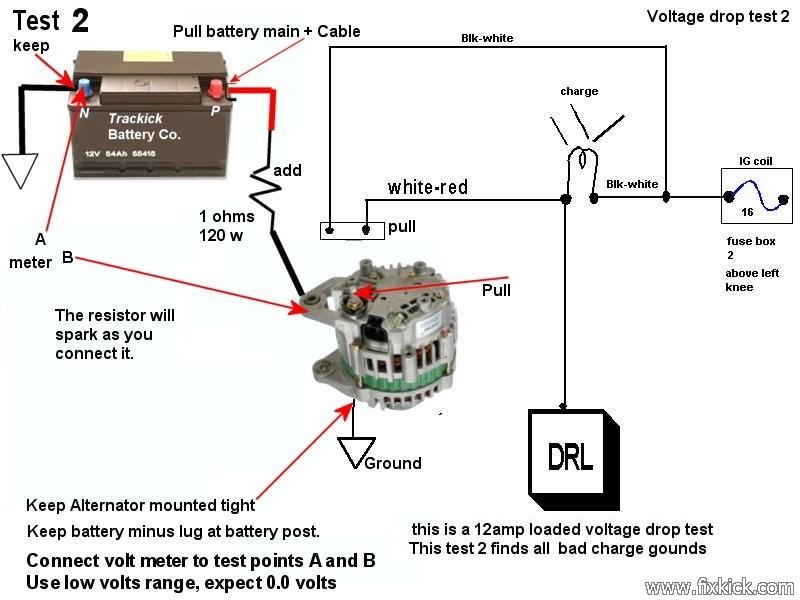 Car Alternator Diagram Wiring Diagram
