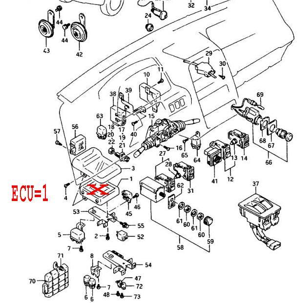 1996 Suzuki Sidekick Ignition Harness - wiring diagrams image free