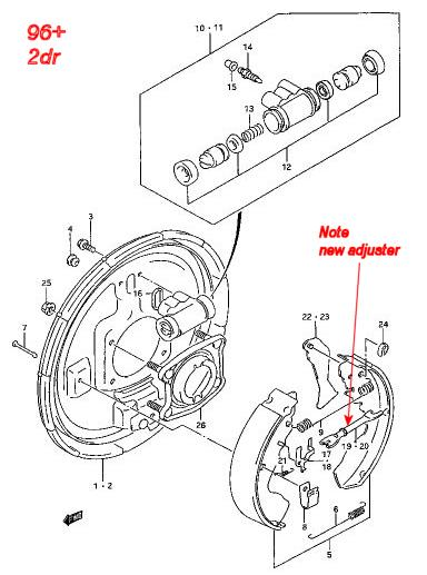 96 golf Motor diagram
