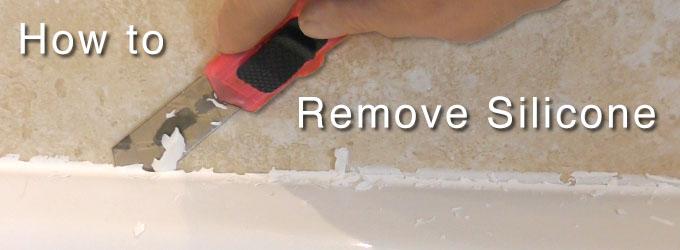 How To Remove Bathroom Sealant. How To Remove Silicone Caulk. How