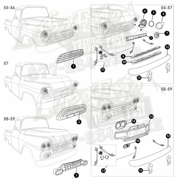 2005 chevy truck parts diagram