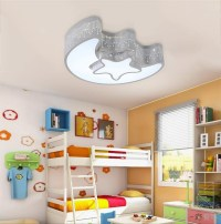 Star Moon Light Fixture Kid's Room Ceiling Lamp LED Baby ...