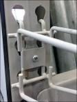Conduit Bender Pallet Rack Hook Fixtures Close Up