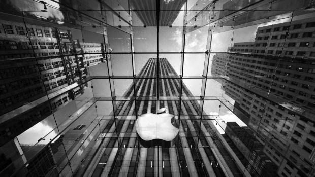 amazing cityscape photography wallpaper HD apple store