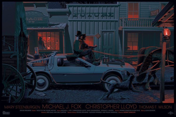 Related items art back to the future trilogy art featured