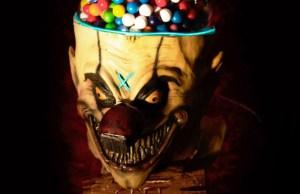 Horrifying Clown Head Gumball Machine