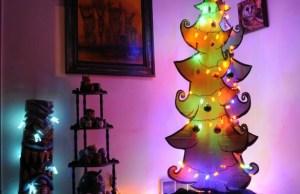 11 Creatively Alternative Christmas Trees This Season (5)