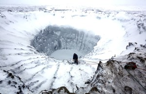Mysterious Crater in Siberia