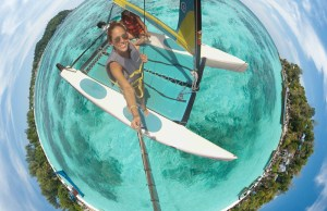 Sailing Through a Tiny Planet Panorama