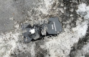 Mighty iPhone Recovered Working After 5 Days Covered In Snow