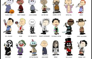 Charlie Brown Reimagined As Horror Movie Villains