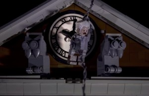 LEGO Recreates BACK TO THE FUTURE Clock Tower Sequence