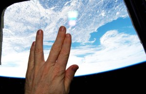 Space Salute To Nimoy From Space