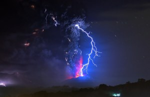 Chile Volcano Eruption
