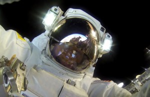 Astronaut's Spacewalk With a GoPro