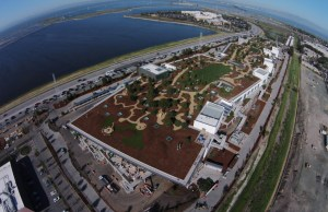 9-Acre Roof Garden on Facebook's New HQ