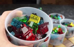 Here How You Make Edible and Stackable Lego Gummy Candy