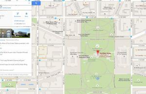 The White House - Google Maps