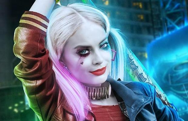 Margot Robbie's Harley Quinn Fan Art