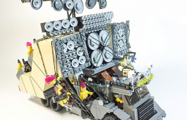 Custom Lego MAD MAX: FURY ROAD Vehicles