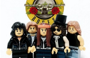 Rock Bands Into LEGO Minifigs