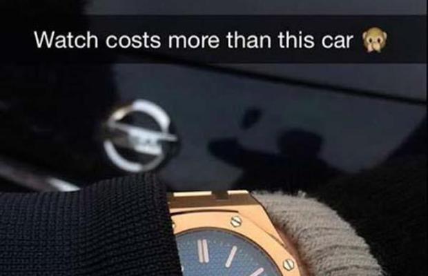 Rich Kids On Snapchat