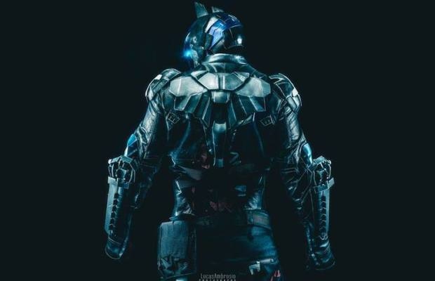 Brilliant 3D-Printed BATMAN ARKHAM KNIGHT Cosplay