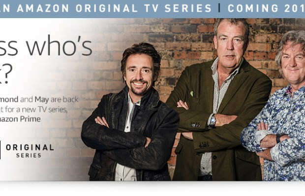 Amazon signs Top Gears Clarkson, Hammond, and May for new show