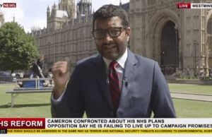 2 Magicians Videobomb A Live News Reporter With Hell Of A Magic Trick