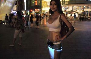 DIY Underlit Skirt