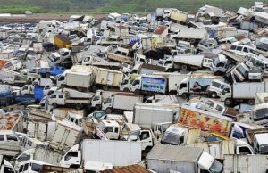 Place Where All Chinese Trucks And Bikes Come To Die