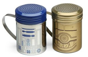 Star Wars R2-D2 and C-3PO Spice Shakers