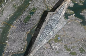 Visual Size Comparison of a 'Star Wars' Super Star Destroyer and Manhattan