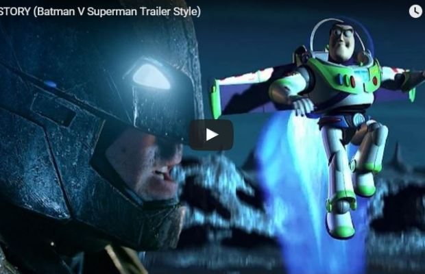 TOY STORY / BATMAN V SUPERMAN Mashup Trailer