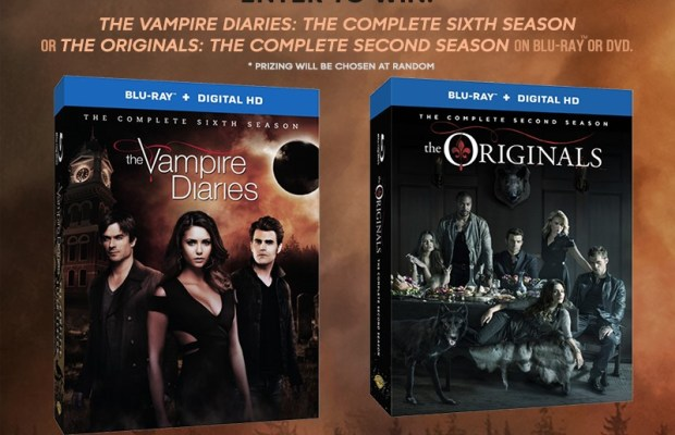 Giveaway: The Vampire Diaries: The Complete Sixth Season & The Originals: The Complete Second Season