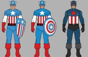Evolution Of Captain America