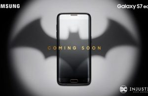 Batman Themed Samsung Galaxy S7 Edge