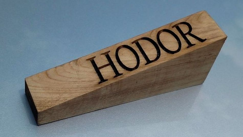 Hodor Door Stoppers Are Taking The World With Storm