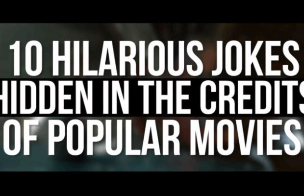 Funny Jokes Hidden in The Credits of Popular Films