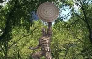 13-Foot Bronze Statue of CAPTAIN AMERICA