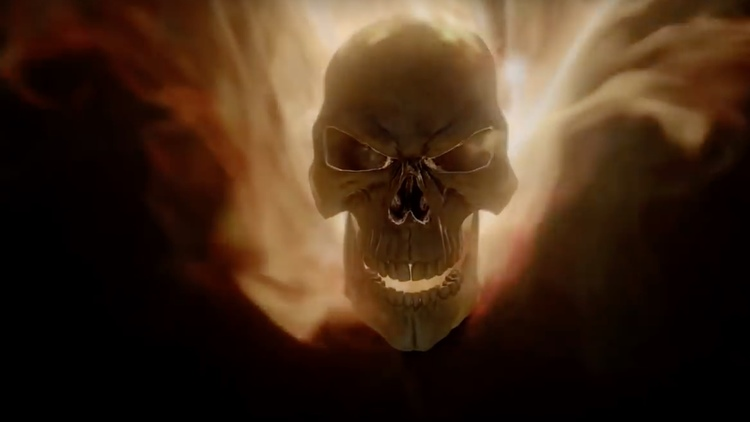 Ghost Rider Car and Trailer From AGENTS OF S.H.I.E.L.D.
