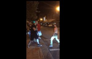 Drunk Guy Picks Fight With The Wrong Bouncer