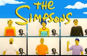 THE SIMPSONS Theme Song Acapella Treatment