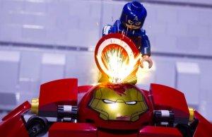 Iron Man Fights Captain America