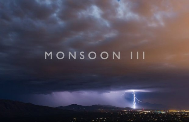 4K Timelapses of 2016 Storms in Arizona
