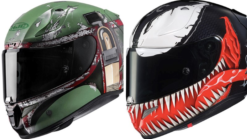 Insanely Cool Pop Culture-Themed Motorcycle Helmets